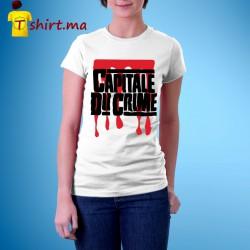 Tshirt femme Capitale du crime