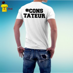 Tshirt homme Constateur