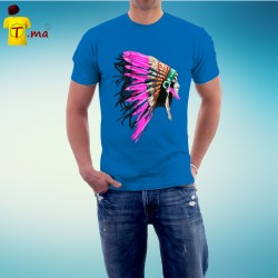 Tshirt homme Indian Woman