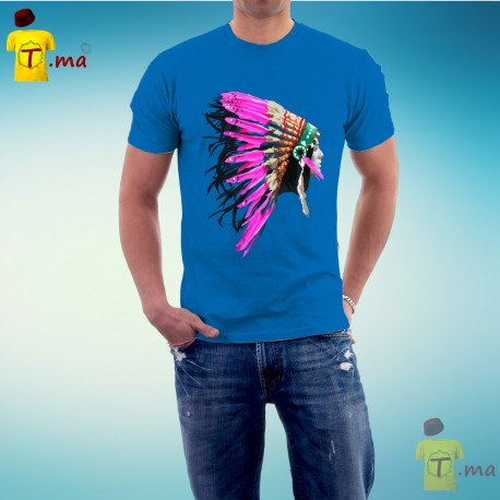 Tshirt homme Indian