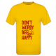 Tshirt bee happy