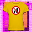 Tshirt femme Ramadan no eating and smoking