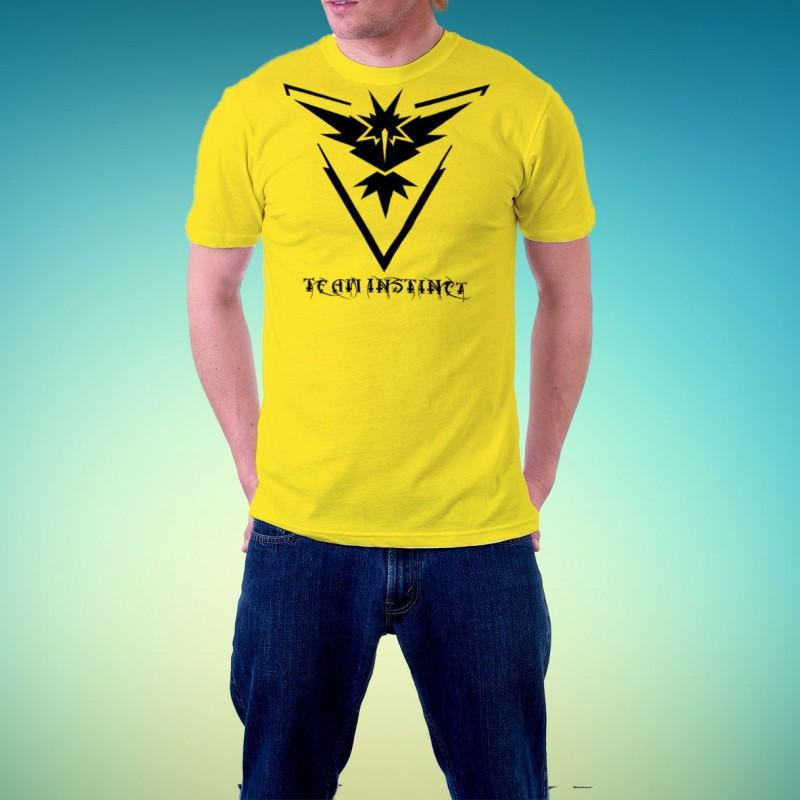 Tshirt homme Pokemon Team Instinct
