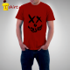 Tshirt homme Smiley Skull