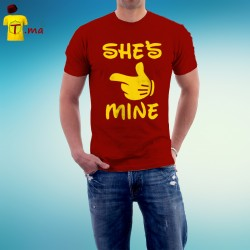 Tshirt homme She is mine