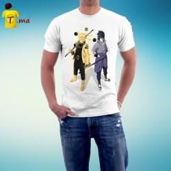 Tshirt homme Naruto Sasuke Sage Mode