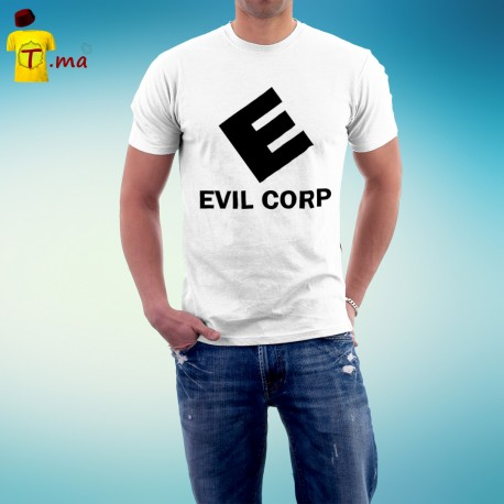 Tshirt homme Evil Corp