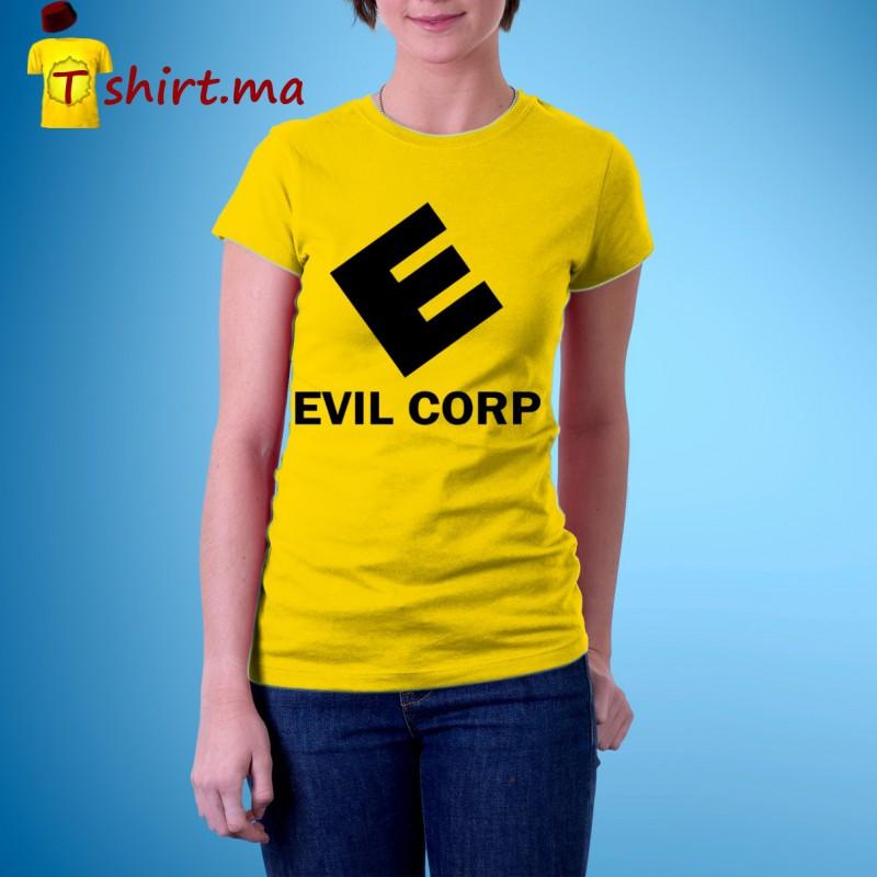 Tshirt femme Evil Corp