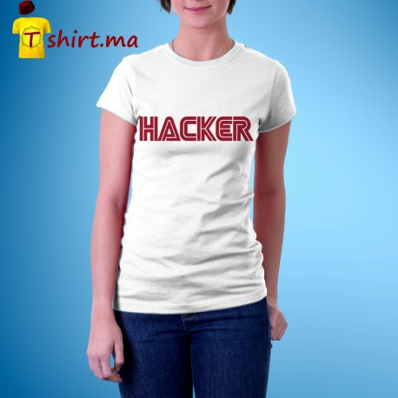 Tshirt femme Mrs. Hacker