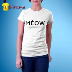 Tshirt femme Meow