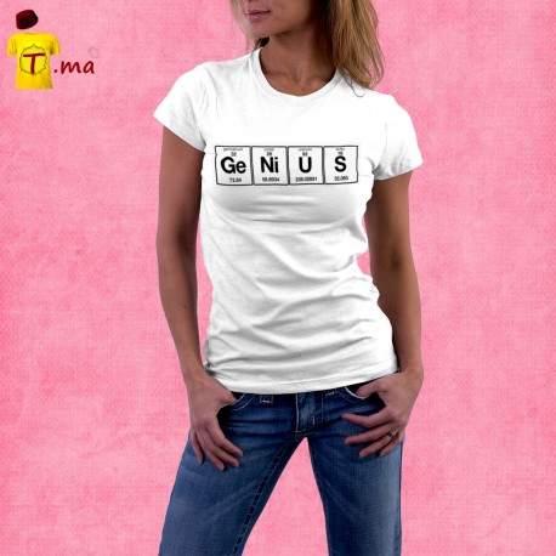 Tshirt femme Genius