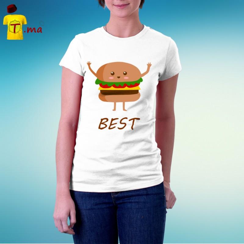 Tshirt femme Best Friend 1