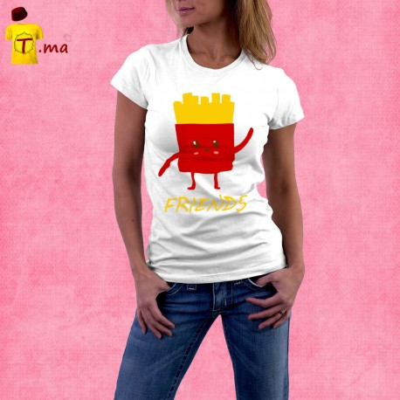 Tshirt femme Best Friend 2