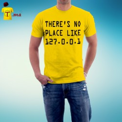 Tshirt homme There is no place like HOME