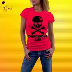 Tshirt femme Dangerous Girl