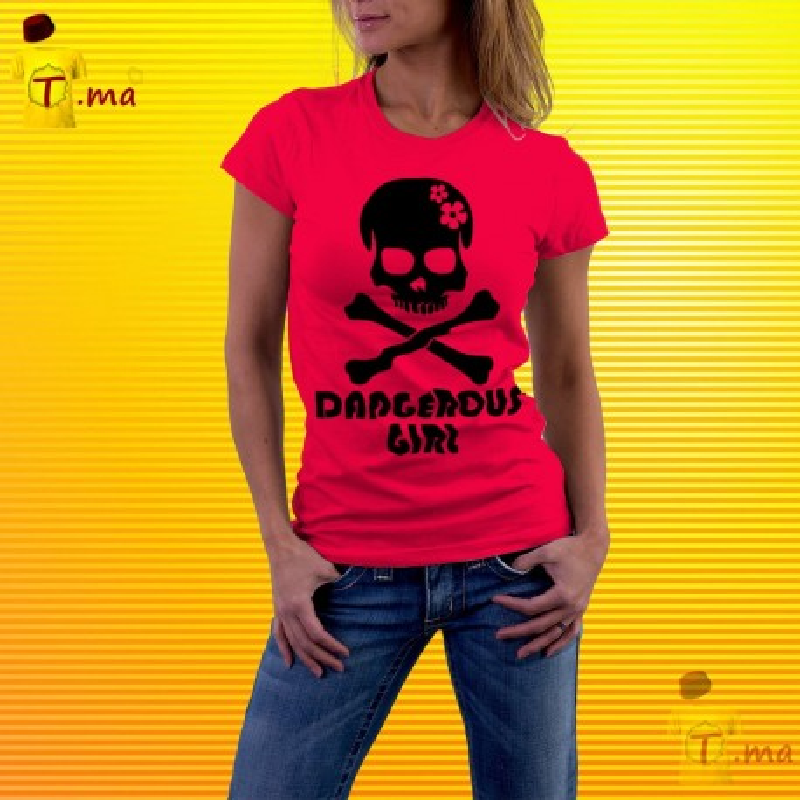 Tshirt femme No beard