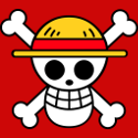 One piece flag logo