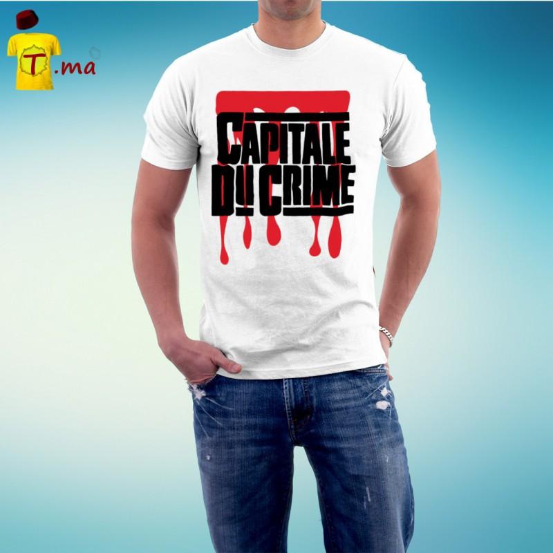 Tshirt homme Capitale du crime