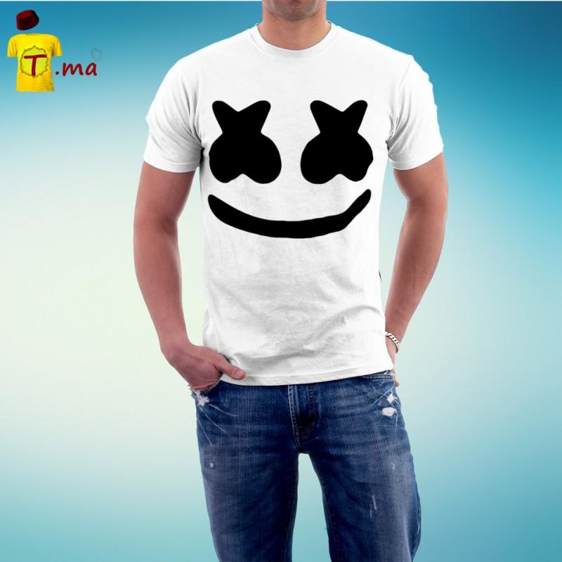 Tshirt homme Marshmallow