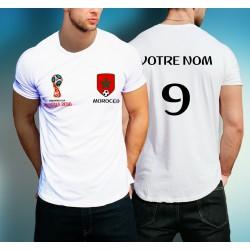 Tshirt supporter du Maroc