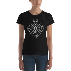 Tshirt Femme Game Of Thrones Houses