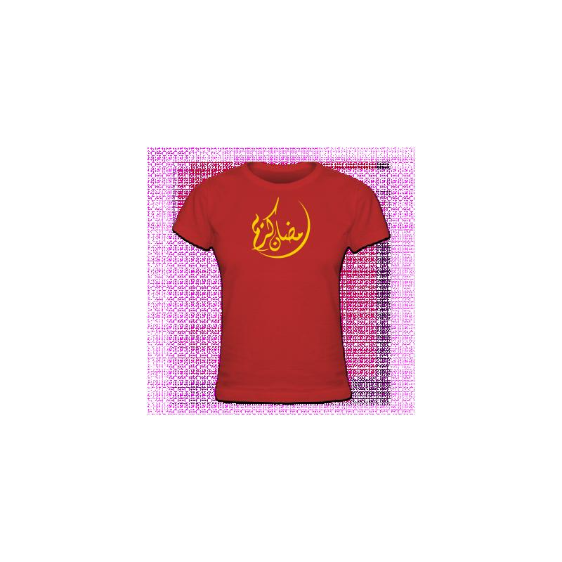Tshirt femme Ramadan Kareem