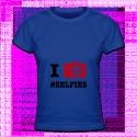 Tshirt I love Selfies pour femmes