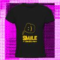 Tshirt smile pour femmes