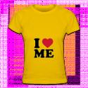 Tshirt I love me pour femmes