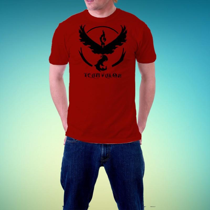 Tshirt homme Pokemon Go Team Valor