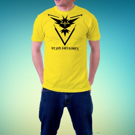 Tshirt homme Pokemon Team Instinct