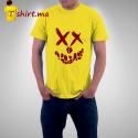 Tshirt homme Smiley Skull