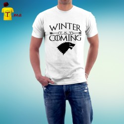 Tshirt homme Winter is coming