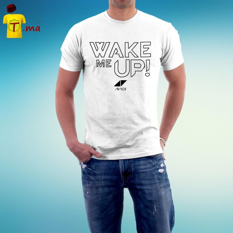 Tshirt homme Wake me up Avicii
