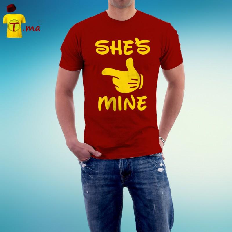 Tshirt homme Shs is mine