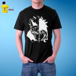 Tshirt homme Naruto Sasuke Face
