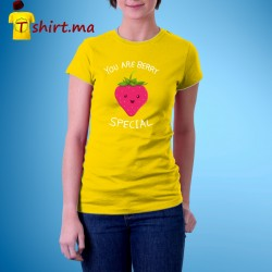 Tshirt femme berry special