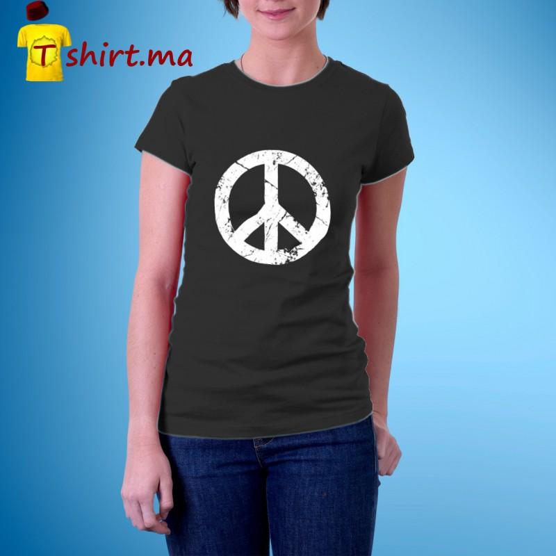 Tshirt femme Peace