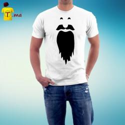 Tshirt homme Beard Man