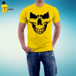 Tshirt homme Scary skull